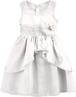 Balasha Toddler Kids Baby Girls Striped Sleeveless Bowknot Tulle Tutu Princess Party Dress