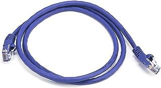 Monoprice 102137 Cat5e Ethernet Patch Cable - Network Internet Cord - RJ45, Stranded, 350Mhz, UTP, Pure Bare Copper Wire, ...