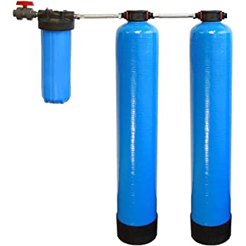 Tier1 Essential Certified Series Whole House Water Filter System w/Salt-Free Softener - Filters Sediment & 97% Of Chlorine - Carbon & KDF Home Water Filtration