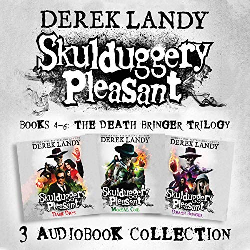 Skulduggery Pleasant: Audio Collection, Books 4-6  By  cover art