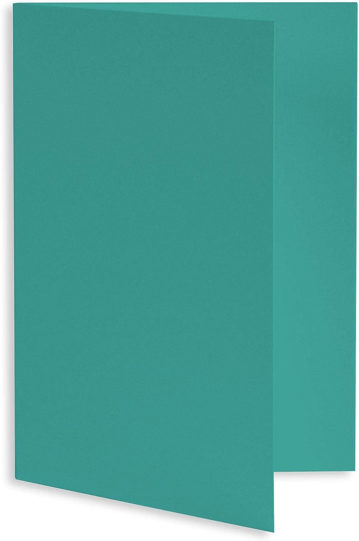 Tropical Blue Folded Card Many popular brands - Tulsa Mall A6 LCI Hue 6 x Matte 2 111C 4 1