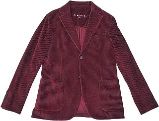 (チルコロ) CIRCOLO 1901 シングルジャケット メンズ コーデュロイジャケット ワインレッド系 正規取扱店