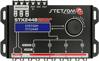 $114 » Stetsom STX 2448 DSP Crossover & Equalizer 4 Channel Full Digital Signal Processor (Sequencer)