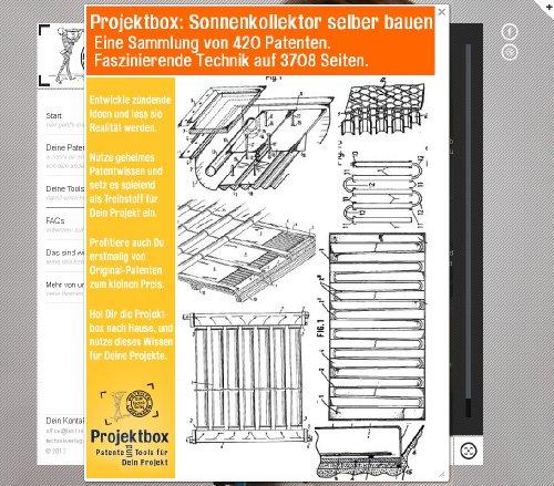 Sonnenkollektor selber bauen: Deine Projektbox inkl. 420 Original-Patenten bringt Dich mit Spaß ans Ziel!