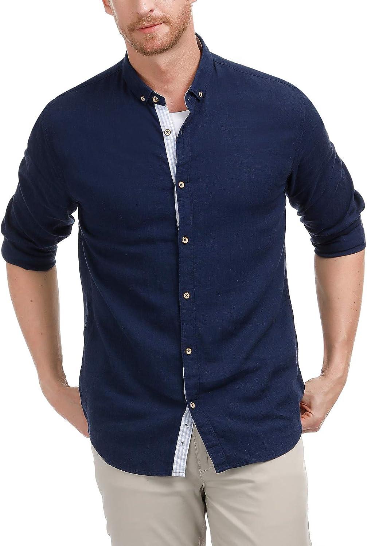 Minneapolis Mall A surprise price is realized PJ PAUL JONES Men's Short Long Sleeve Casual Shirt S Button Down