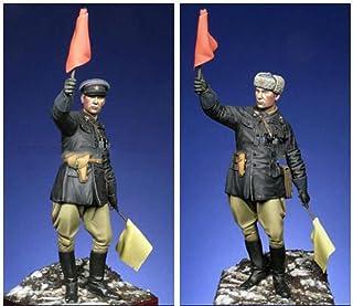 1/16 120Mm Rosyjski Oficer Żołnierz S 120Mm Historyczny Model Figurki Z Żywicy Zestaw Miniatur Unassambled Niepomalowany