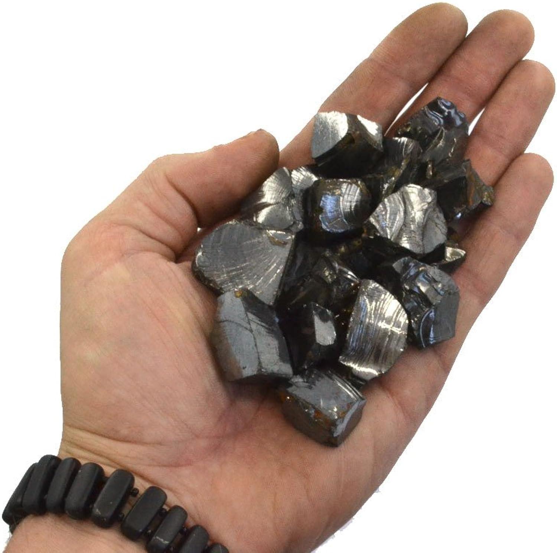Keled_R  100 g Edelschungit Steine für Wasser Reinigung,  A  0,5-1 cm per one stone