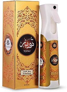 Hamidi Topaz Non-Alcoholic Home Air Freshener Spray 320ML, Better Mood Every Time