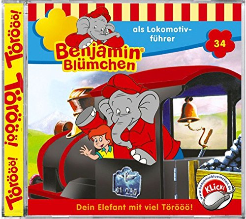 Folge 34: Benjamin als Lokomotivführer