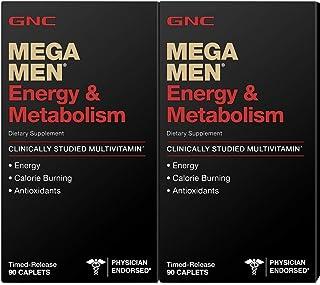 GNC Mega Men Energy & Metabolism 90 ct [2 PACK]