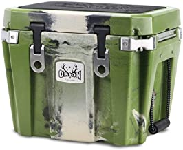 Orion Heavy Duty Premium Cooler (25 Quart, Forest), Durable Insulated Ice Chest for Maximum Cold Retention - Portable, Bear Resistant, and Long Lasting, Great for Hunting, Fishing, Camping