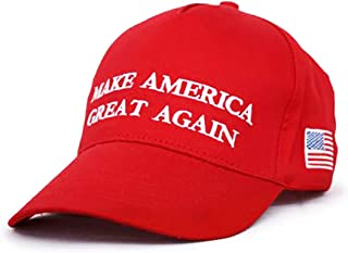 Trump Make America Great Again 2016 Red Quality Embroided Adjustable Cap Hat