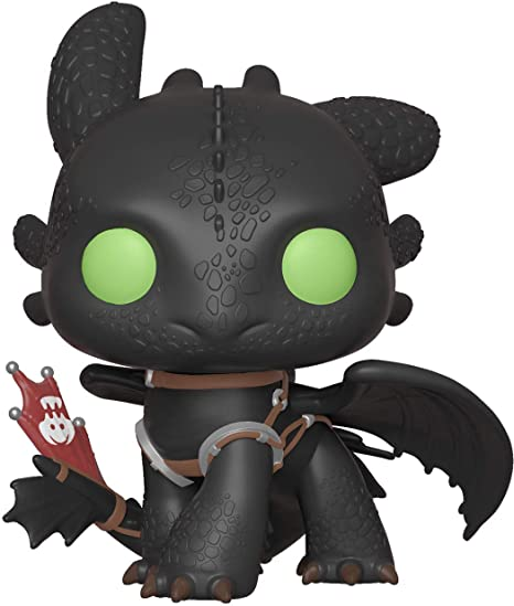Funko Pop! Movies: How to Train Your Dragon 3 - Toothless,Multicolor