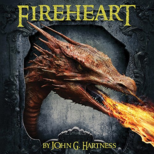 Fireheart audiobook cover art