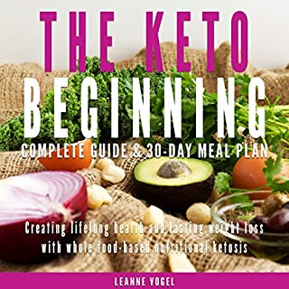 The Keto Beginning audiobook cover art