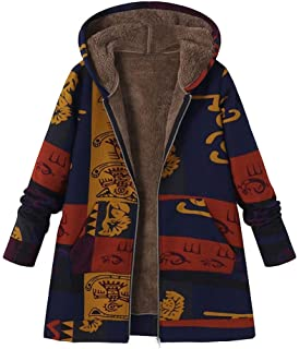 Hemlock Women Plus Size Parkas Overcats Hooded Cardigan Jacket Coats Artificial Woollen Cotton Outerwear Sweater Coat