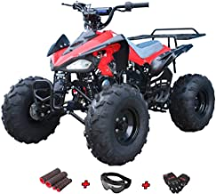 X-Pro 110cc ATV Quad Kids ATVs Quads 110cc 4 Wheeler Youth ATVs with Gloves, Goggle and Handgrip