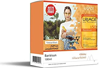 Offer 1+1 free Uriage Bariesun Lotion Spf50+ Fragrance Free 100 ml