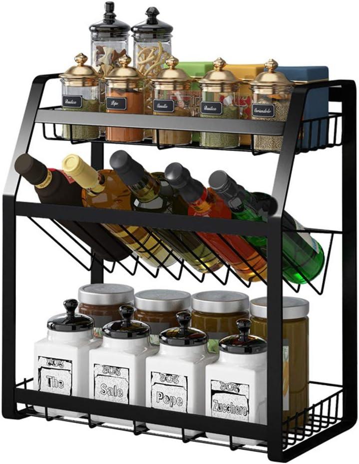 Cherish cheap Spice Rack security 3-Tier Kitchen Organize Standing