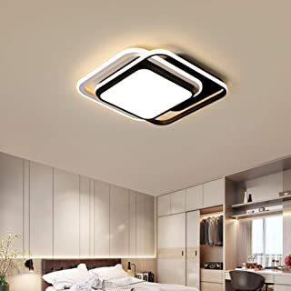 LED Ceiling Light, Warm White 3200 / 6000K Modern Minimalist Recessed Ceiling Light, Stepless Dimming Suitable for Bedroom...
