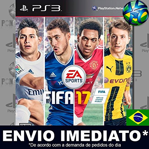 Futebol Fifa 17 Completo Ps3 Mídia Digital Psn Dublado Português Jogue Online