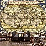 Papel Pintado,Papel Tapiz Mural 4D Personalizado,Creative Mapa Del Mundo Tv Sofá Pintura Mural De Fondo Grande De Seda Autoadhesivas Papeles De Pared Arte Hd Imprimir Cartel De Salón Decoracion