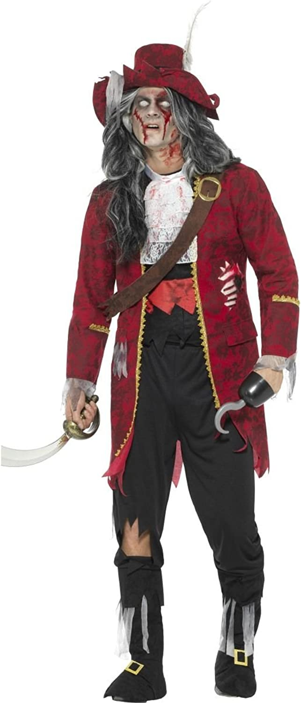 Smiffys Herren Kostüm Zombie Pirat Geisterpirat Halloween Gr.XL B075ZVQMTY Viele Sorten       Guter weltweiter Ruf
