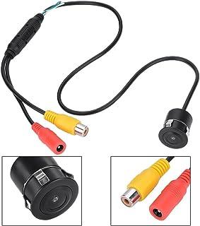 Cámara CCTV con Cable 100W 170 ° Gran Angular Cableado Impermeable Mini Color CCTV CCD Cámara IR Visión Nocturna para automóvil