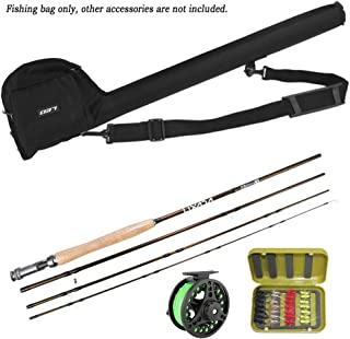 Lixada Fly Fishing Rod and Reel Combo 9' with Carry Bag 20 Flies Complete Starter Package Fly Fishing Kit