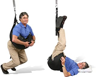 Back Bubble Portable Spinal Decompression, Back Stretching, Back Traction Device, Free Suspension System, Lower Back Pain & Sciatic Relief, FDA Registered