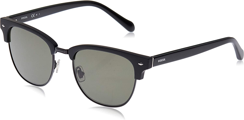 Fossil Men's Fos2057s Round Sunglasses