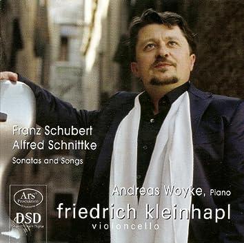 Cello Recital: Kleinhapl, Friedrich - Schubert, F. / Schnittke, A.