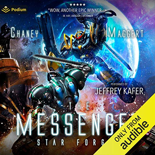 Star Forged audiobook cover art