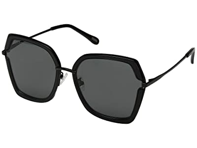 DIFF Eyewear Dakota (Black/Grey) Fashion Sunglasses