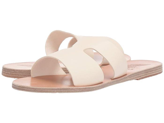 Ancient Greek Sandals  Apteros (Off-White Vachetta) Womens Sandals