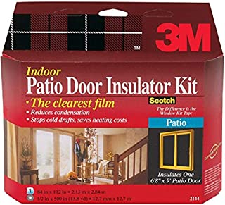 3M 2144W-6 Interior Patio Door Insulator Kit