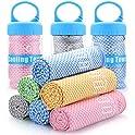 """Bogi 40"""" x 12"""" Cooling Towel with 100% Soft Cool Bamboo Fiber"""