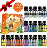 [page_title]-Ätherische Öle Set für Aroma Diffuser,100% Pure Naturrein Ätherisches Öl,Aromatherapie Duftöl Geschenkset,Top 20 x 5ml Essential Oils Set für Luftbefeuchter,Duftlampen,Seife,SPA,Massage