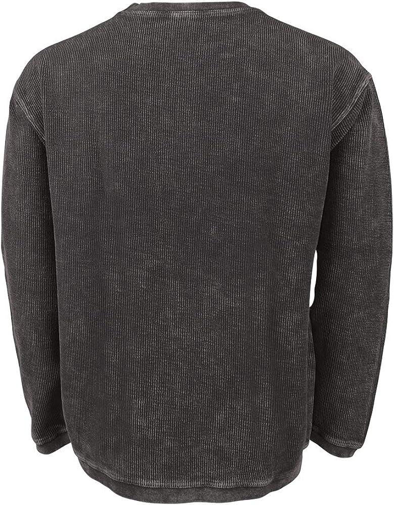 Charles River Apparel Men's Camden Crew Neck Sweatshirt at  Men's Clothing store