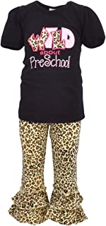 Girls Back to School Outfit Wild About Preschool