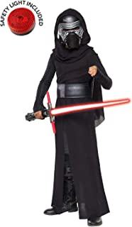 Star Wars Force Awakesn Kylo Ren Deluxe Costume Kit with Safety Light