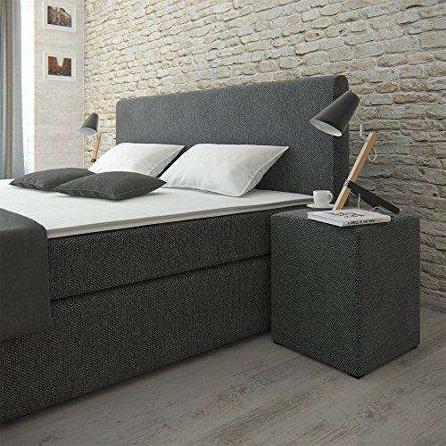 Designer Boxspringbett Berlin 2 mit Nachttisch oder Box Bild 2*