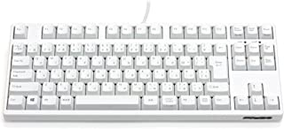 FILCO 斐尔可 Majestouch 2 白色 静音键盘 樱桃轴 日语版 (键盘布局可能非常规)FKBN91MPS/JMW2SHK  CHERRY MX粉色轴 日本語配列91テンキーレス