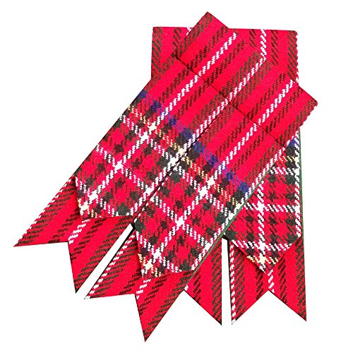 Calcetines de falda escocesa con distintos tartanes, medias de las Highlands