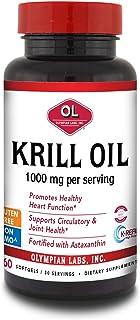 Olympian Labs Krill Oil, 60 softgels, 30 servings