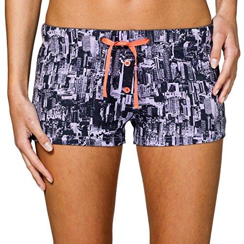 Uncover by Schiesser Damen Jersey Shorts Schlafanzughose, Grau (Graphit 207), 34 (Herstellergröße: XS)