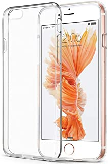 e1c22377a8d CTGVH iPhone 6 Plus 6S Plus Funda, Soft TPU Cubierta Ultra Fina  Transparente Caso Protector