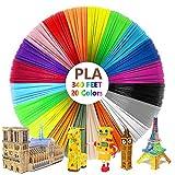3D Pen Filament 340ft, SPOKKI 20 Color 3D Printing Pen Filament Refills for Kids Gifts (20 Colors X 17ft Each = 340FT)