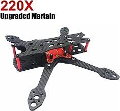 Martian IV X220 220 Drone Frame(4MM Arms), FPV Racing Carbon Fiber Quadcopter Drone Frame Kit