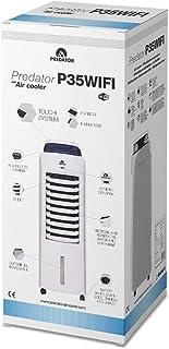 GLAZIAR Predator P35WIFI - Climatizador EVAPORATIVO, con WiFi Control Via App y Manual, Anti-Mosquitos Integrado, Genera un Efecto Brisa, Regula Temperatura 4-5ºC, Uso con Ventanas Abiertas